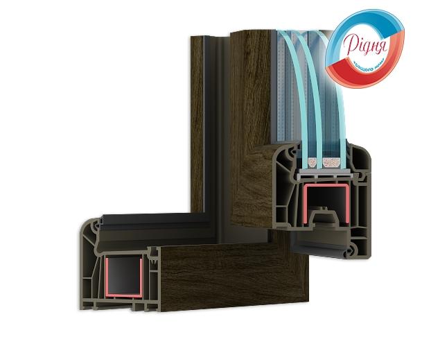 Пластиковые ламинированные окна WDS 7 Series