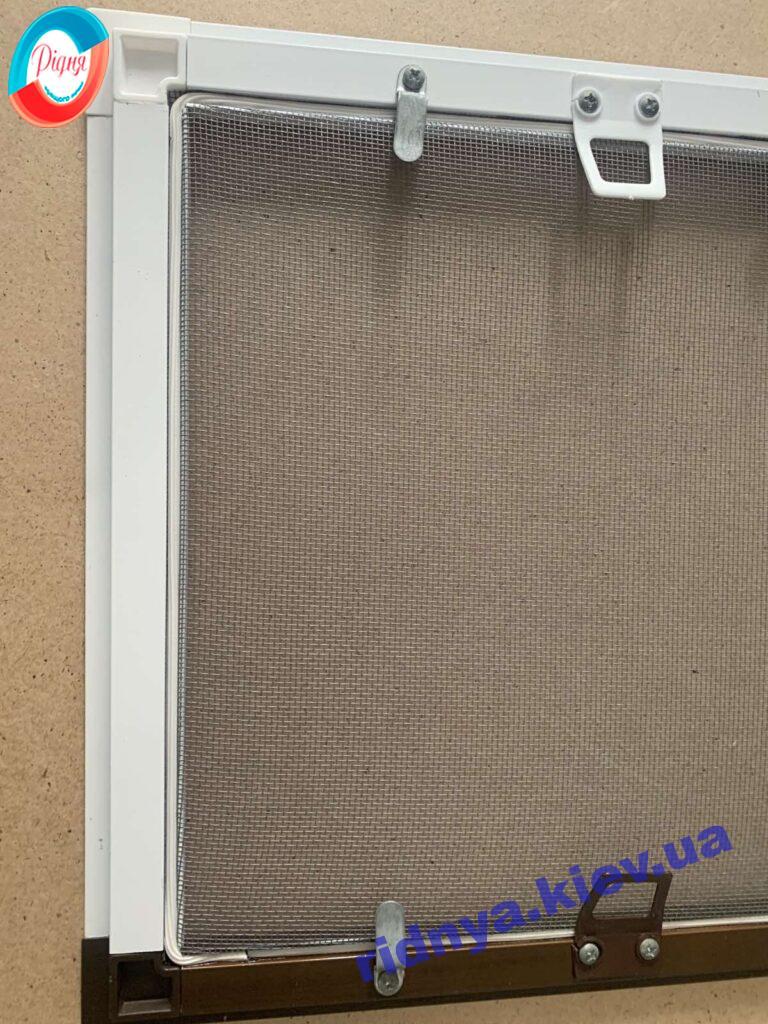 Москитные сетки белые и коричневые