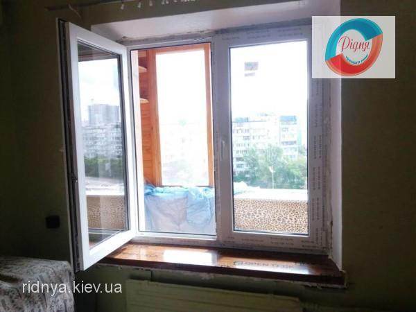 Самі теплі пластикові вікна REHAU - фірма РІДНЯ
