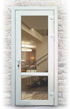 Цена пластиковой входной двери от компании Ридня