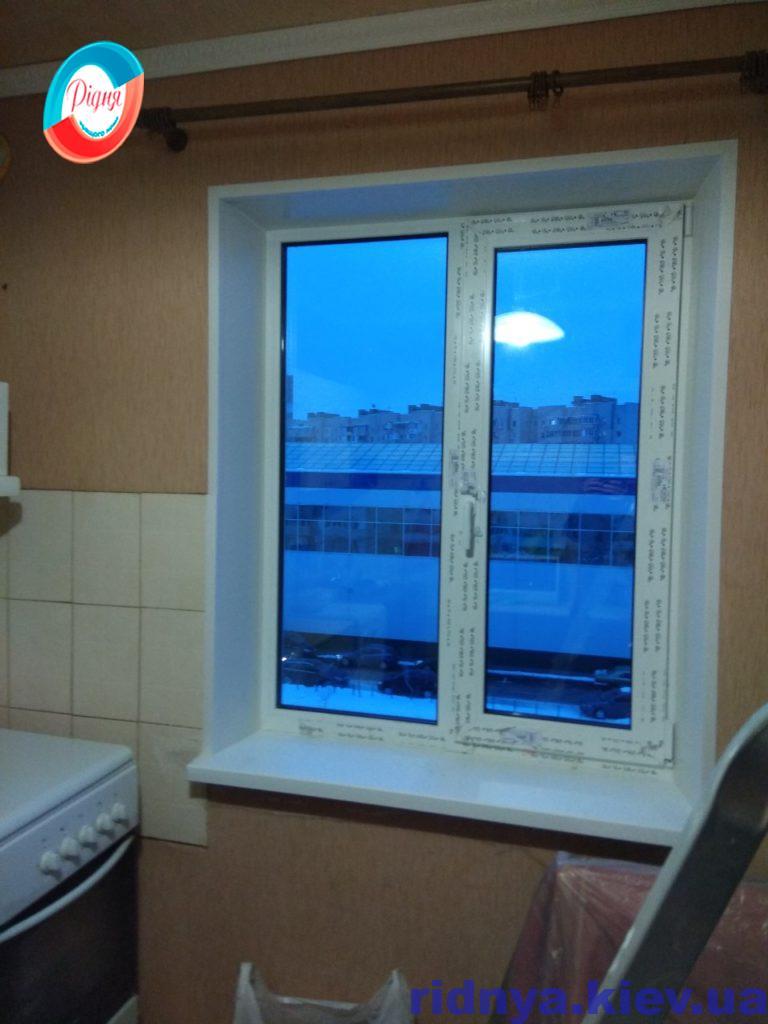 Пластикові відкоси на вікна - фотогалерея компанії Рідня