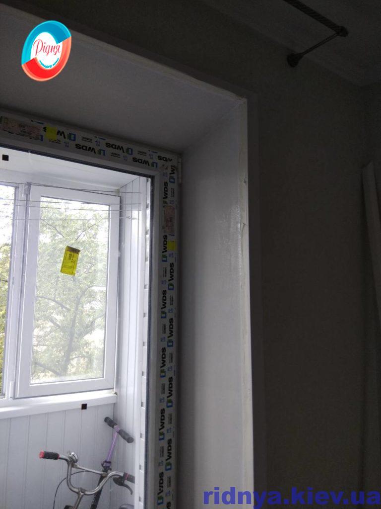 Штукатурка відкосів вікон недорого