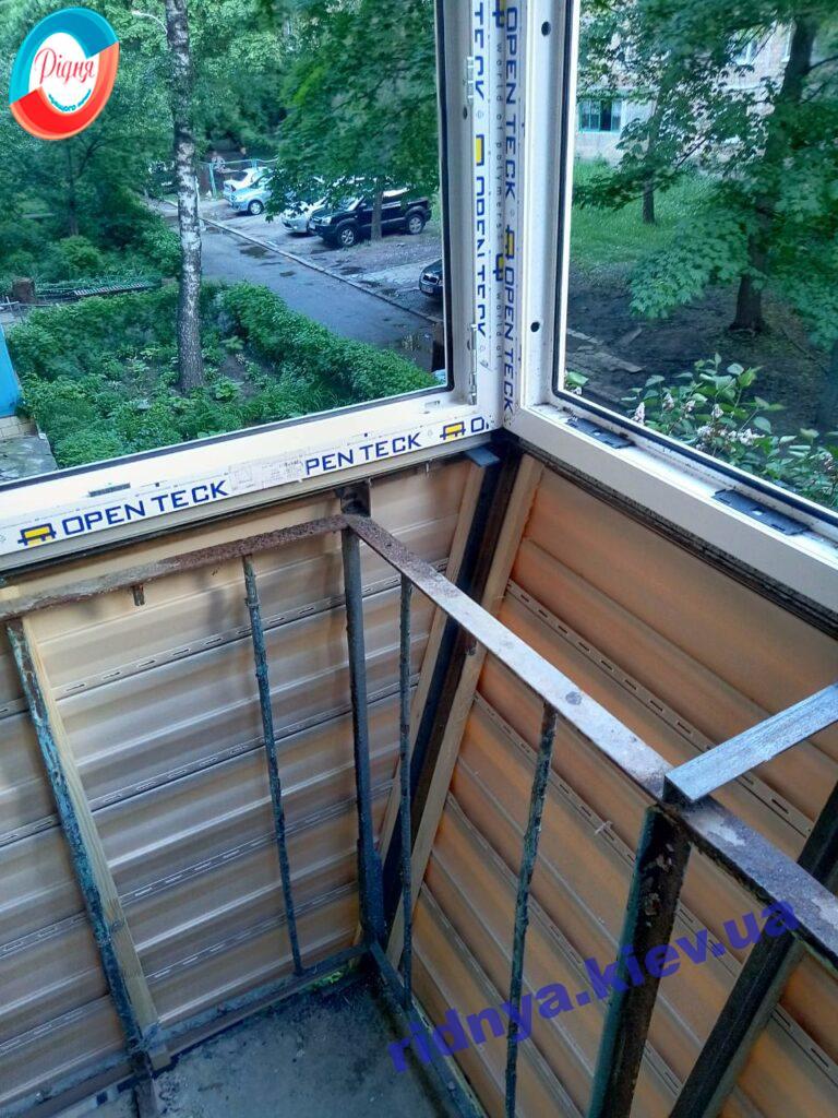 Заказать Окна в Киеве на балкон с выносом