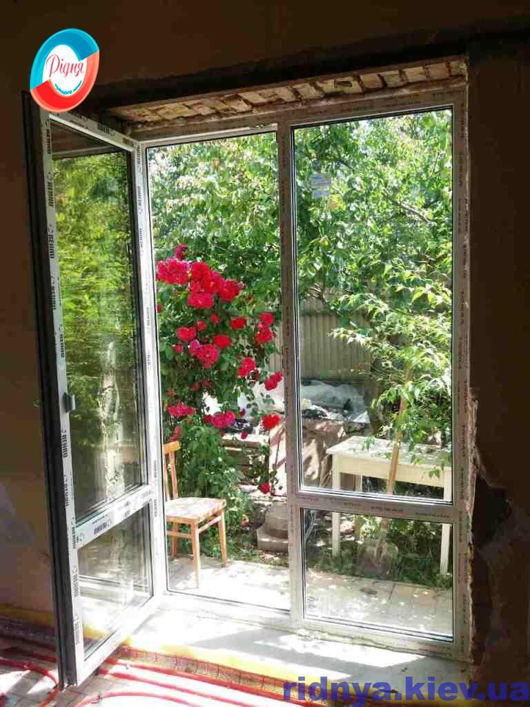 Металлопластиковые двери Rehau - фото компании Ридня