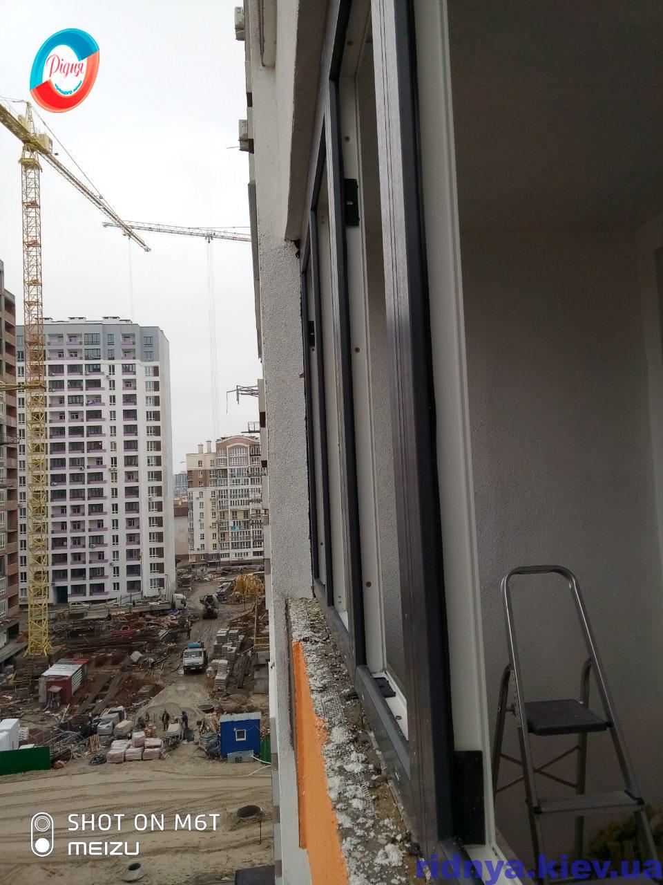 Застеклить балкон, лоджию в ЖК Акварели - фото бригады 9