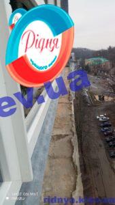 Металопластикові вікна Rehau Geneo в Києві бригадою 13
