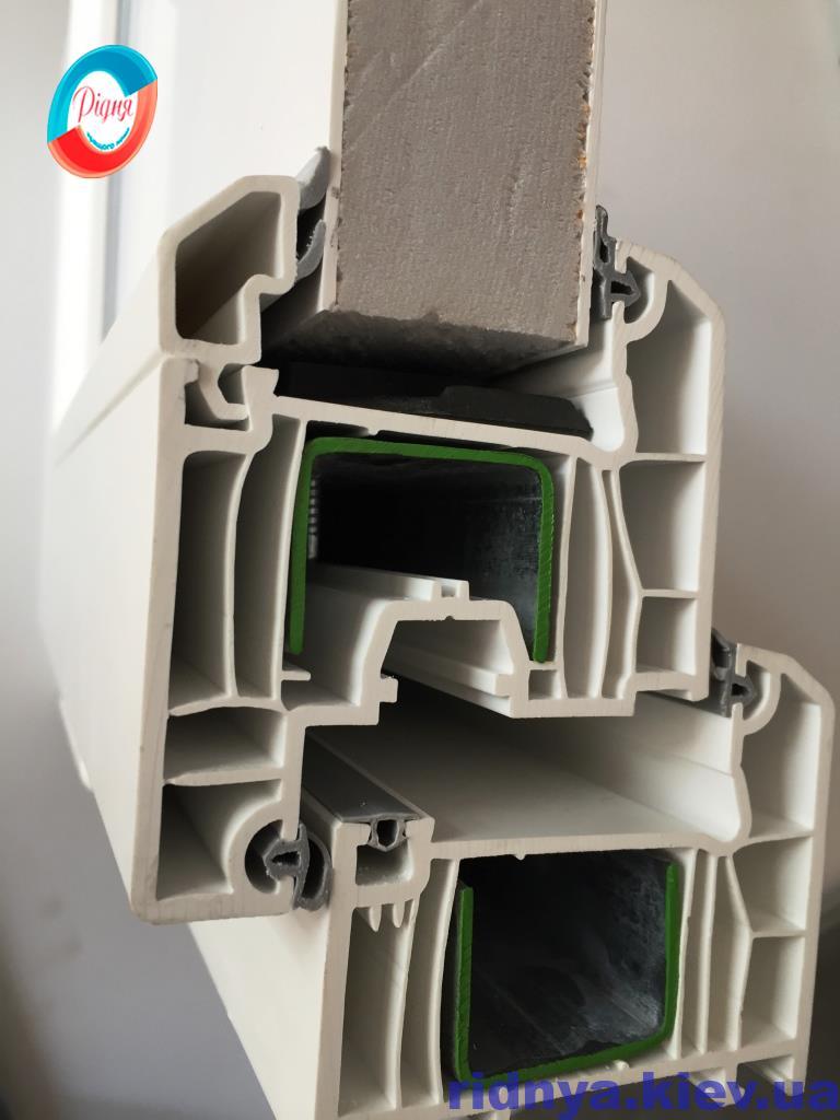 Пластиковые окна WDS 6S - компания Ридня