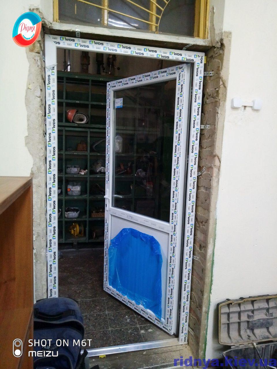 Пластиковые межкомнатные двери WDS Ирпень ул. Садовая 94 от компании Ридня