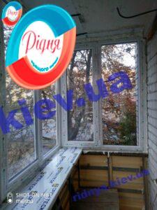 Пластикові вікна Lider на балкон