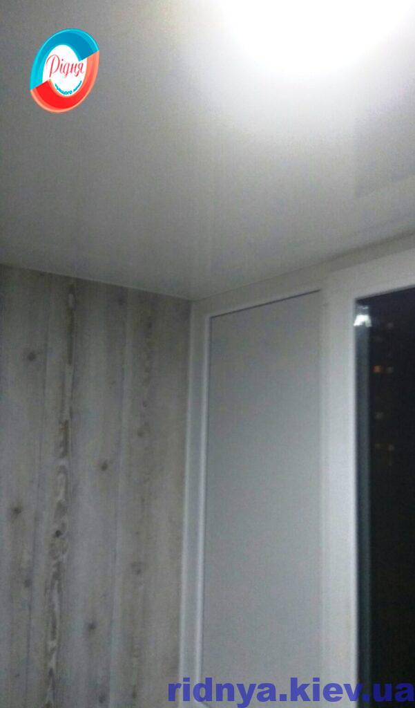 Отделка балкона под ключ Киев фото работы бригады 16