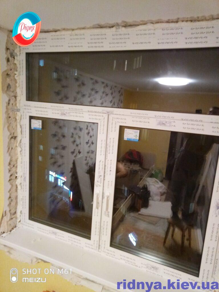 Пластиковые окна Rehau Киев фото ™РИДНЯ