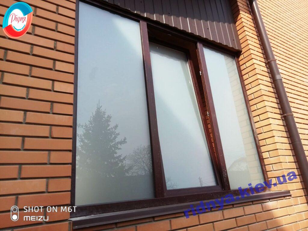 Ламинированные окна Киев Осокорки фото 7 бригады
