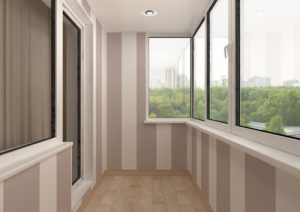 обшивка балкона внутри киев