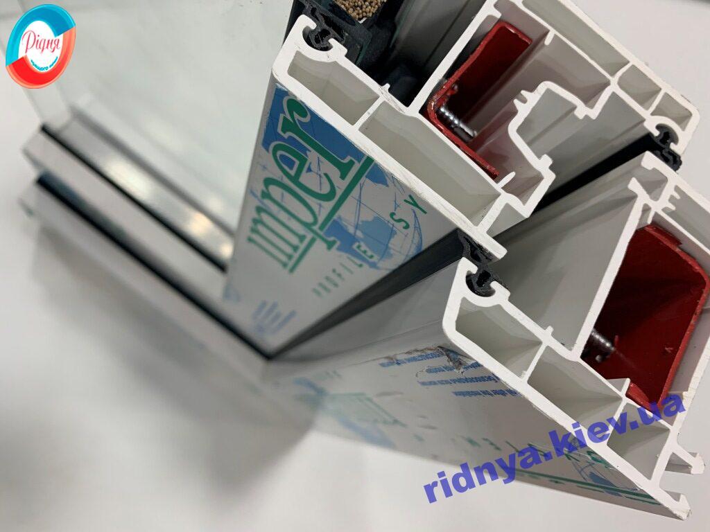 Пластиковые окна Империал образец профиля